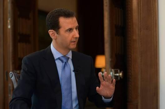 President al-Assad to France 2 TV-5