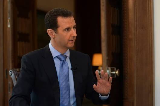 President al-Assad to France 2 TV-5
