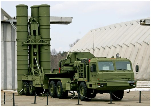 S-400 anti-aircraft missile system