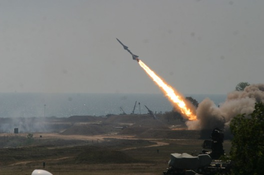 SA-2_Volhov_missile_launch