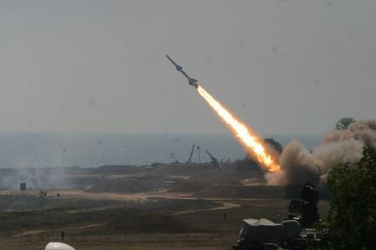 SA-2_Volhov_missile_launch