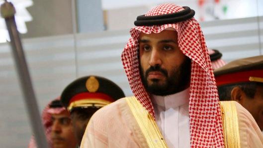 saudi defence minister & urine-drinker mohammad bin salman