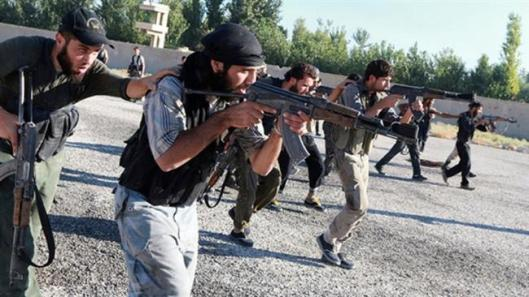 Foreign-backed militants training-2