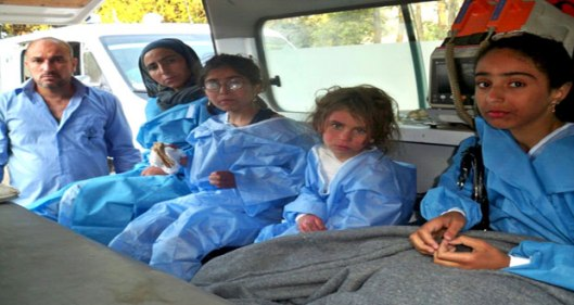Jisr-al-Shughour-national-hospital-terrorists-siege-1