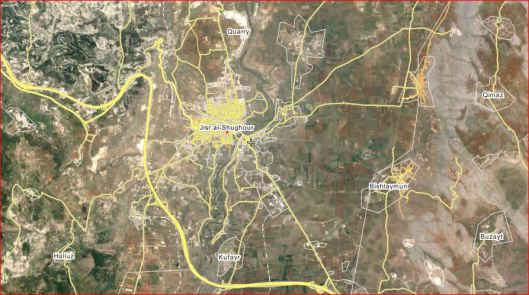Jisr Al-Shughour-wikimapia