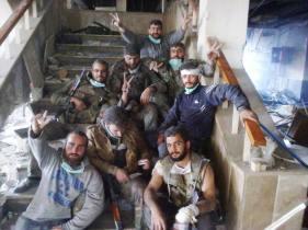 Our SAA heros at Jisr al-Shoghour hospital