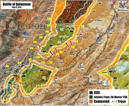 Map Battle of Qalamoun area-20150509