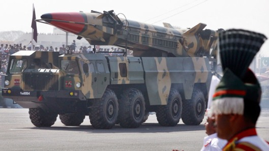 Pakistan-Nuclear-capable missile Shaheen II-Reuters_Mian Khursheed