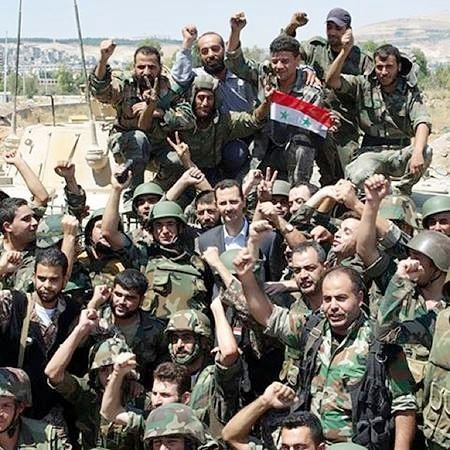 President-al-Assad-and-SAAF-450x450