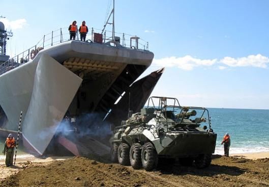 Russian-BSF-Marine-Brigade-Holds-Landing-Drills