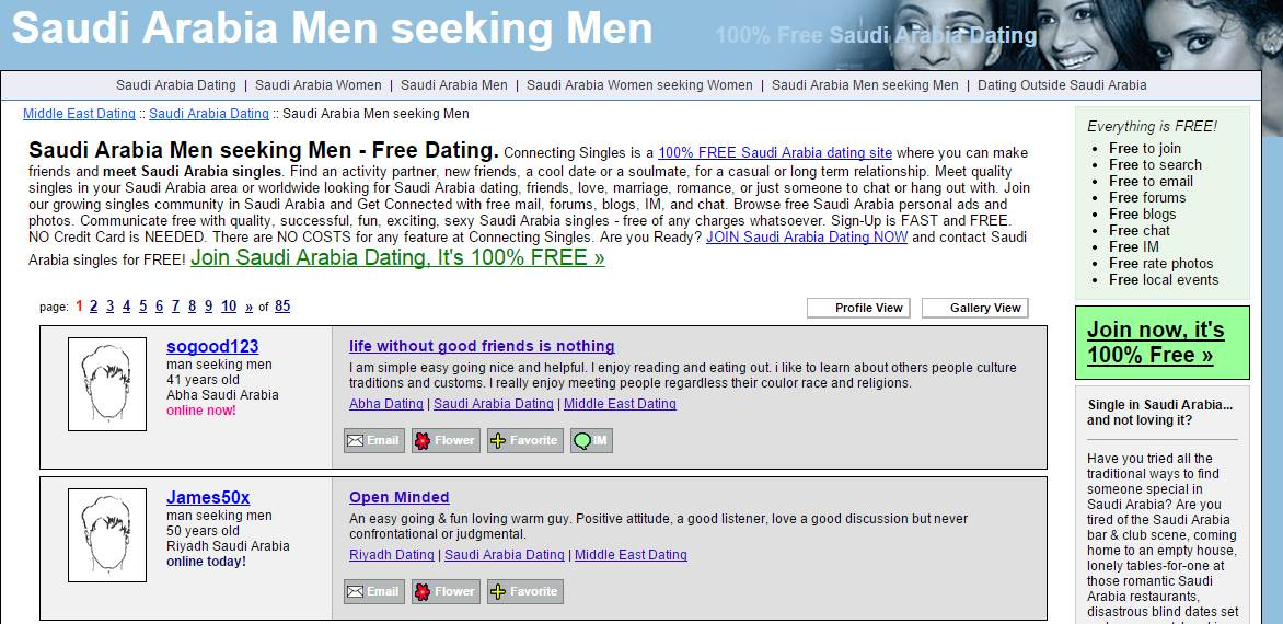 List of free dating site without credit card