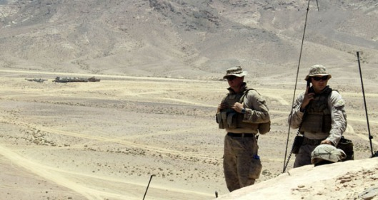 US Soldiers & Security Experts Deployed at Jordanian-Syrian Borders
