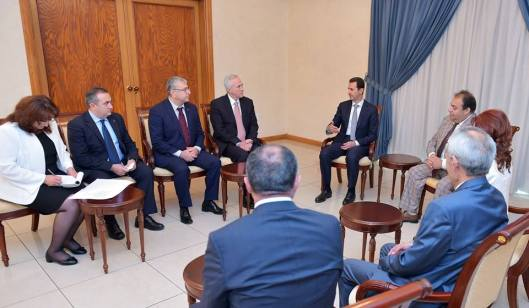 al-assad-armenian-delegation-1