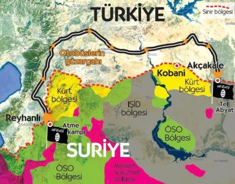 https://syrianfreepress.files.wordpress.com/2015/06/cumhuriyet-isis-turkey-border-map-1.jpg?w=460