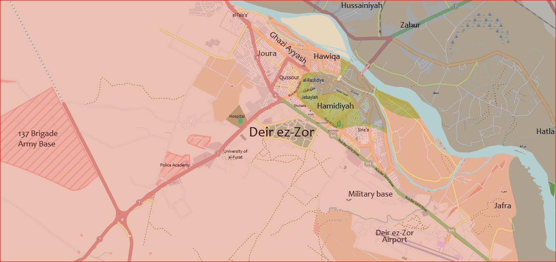 Deir ezZor Military Airport over 500 Daash mercenaries killed by