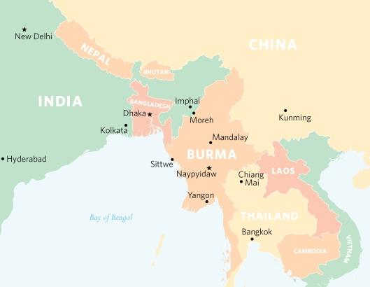 India-Burma-eastindia