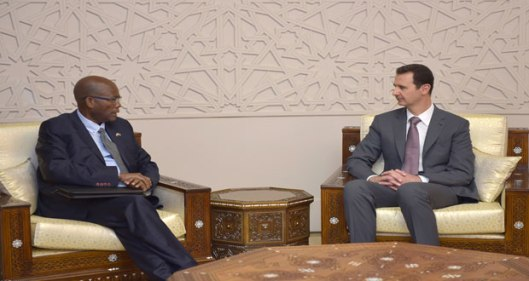 President-al-Assad-South-Africa-envoys