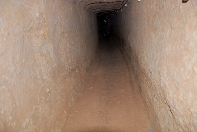 Daraa-tunnel utilisé par les terroristes pour importer des armes depuis la Jordanie