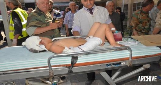 terrorist attack in Aleppo