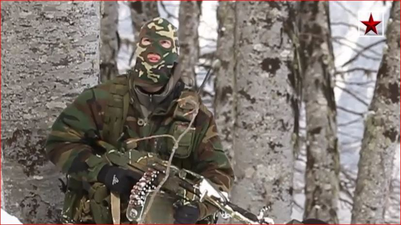 Spetsnaz Troops
