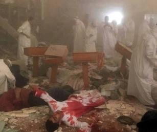 terrorist bomb attack Kuwait mosque (1)