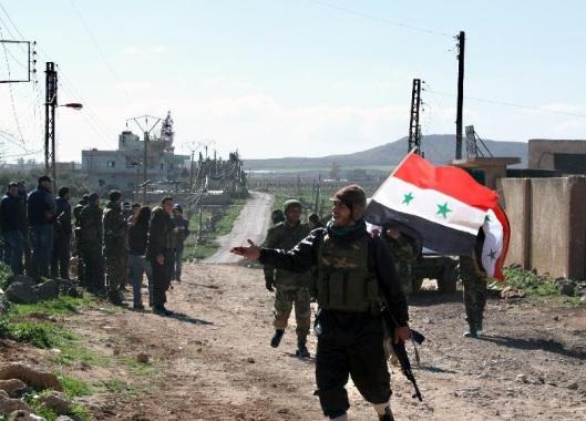 Battle-South-Syrian-border