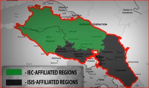 Risultati immagini per caucasus emirate