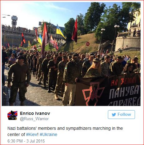 Members of the far-right radical group Right Sector-2