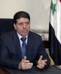 Syrian Prime Minister Wael Halqi