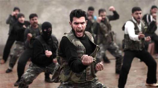 training-terrorists-in-Maaret-Ikhwan-Idlib-20121207