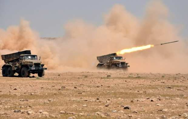 SyrianFreePress-troops participate in a live fire exercise-2