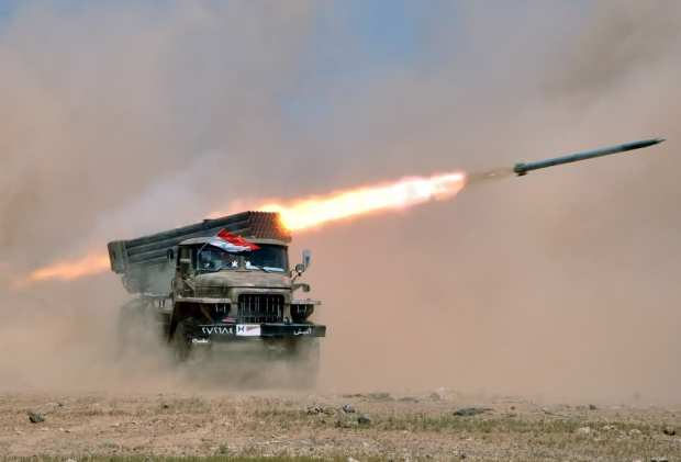 SyrianFreePress-troops participate in a live fire exercise-3