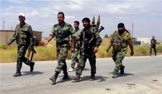 Syrian Regular Troops