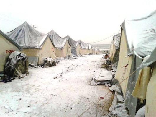 Al-Zaatari camp in Jordan-11
