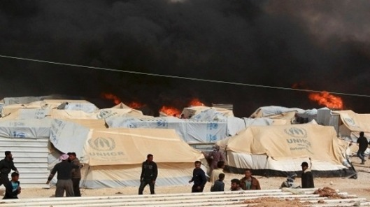 Al-Zaatari camp in Jordan-3