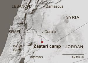 Al-Zaatari camp in Jordan-4