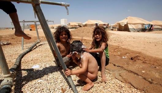 Al-Zaatari camp in Jordan-8b