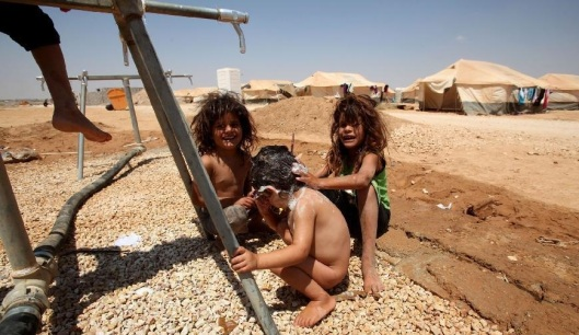 Al-Zaatari camp in Jordan-8b