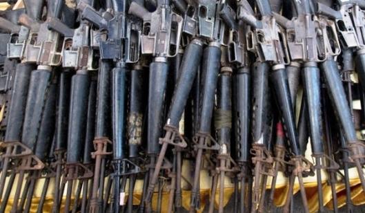Israeli-Made Weapons Seized by Hezbollah in Zabadani