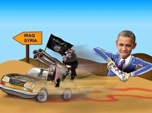obama-remotely-control-daesh