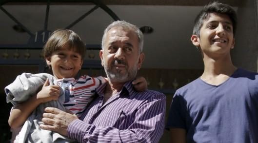 Osama Abdul Mohsen and kids