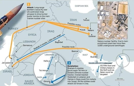 possible-routes-of-a-prospective-israeli-air-force-attack-on-iran-source-sunday-times-13-july-2015