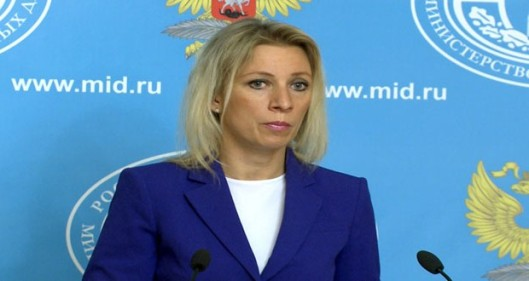 Russian Foreign Ministry Maria Zakharova
