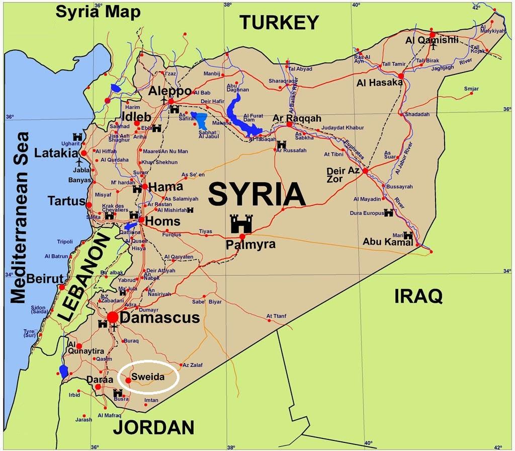 Resultado de imagem para sweida syria
