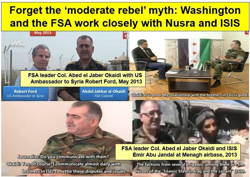 NATO training ISIS...