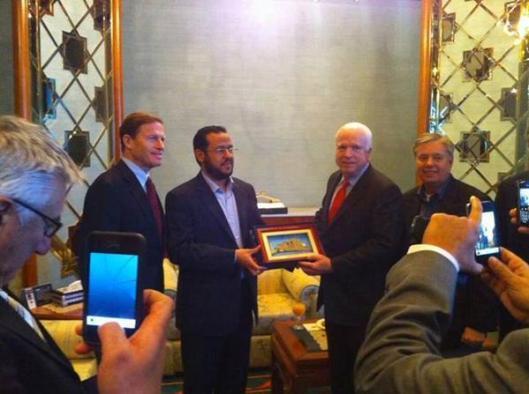 Abdelhakim Belhadj and McCain