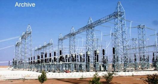 Electricity plant in Aleppo-1