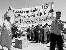 kick us out iraq
