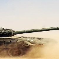 Convoy of T-90 Russian tanks arrived in southern Aleppo