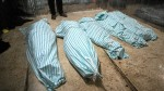 Victims of the Gouta chemical attack in Syria. Photo AFP.